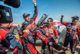 Carlos Sainz rebut gelar ketiganya  reli Dakar