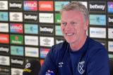 Tantang Liverpool, Moyes harapkan 'Dewi Fortuna' berikan keberuntungan bagi timnya