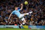 Manchester City bermain imbang 2-2 lawan Crystal Palace di Etihad