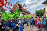 Ribuan masyarakat antusias menyaksikan Kirab Grebeg Sudiro