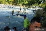 10 korban tewas ditemukan jembatan putus Bengkulu