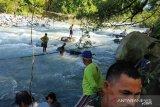10 orang korban jembatan putus di Bengkulu ditemukan