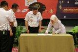 Wagub Lampung tandatangani zona integritas bebas korupsi