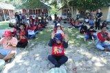 PMI hibur relawan yang bertugas selama bencana Sulteng