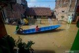196 korban banjir Kabupaten Bandung mengungsi