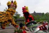 Barongsai Armed 11 ramaikan Imlek di Borobudur