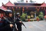 Pengamanan Imlek di Banten