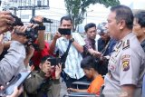 Pemalak sopir truk lintas Sumatera di Jalan Macan Lindungan dibekuk polisi
