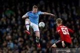 Kevin de Bruyne tak habis pikir City bisa kalah dari MU