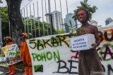 Walhi : Jakarta butuh pohon, bukan beton