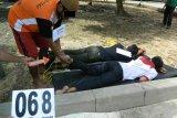 Polres Lampung Tengah gelar rekonstruksi pembunuhan dua belantik sapi