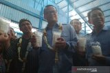 Bantu petani garam, Menteri Kelautan dan Perikanan resmikan enam gudang garam di Pati