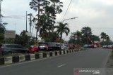 Lokasi sementara PKL Purwosari disiapkan