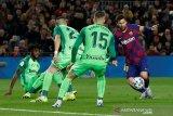 Barcelona gasak Leganes 5-0, Messi cetak dua gol