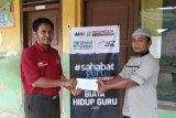 Global Zakat -ACT Lampung beri bantuan kepada guru honor di Pringsewu