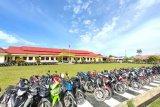 Polres Jayawijaya tahan ratusan motor tanpa dokumen