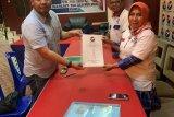 Aie Mangindaan kembalikan berkas pendaftaran  ke Perindo