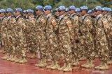 Anggota pasukan perdamaian Indonesia  meninggal di Kongo