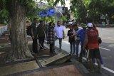 Upaya Risma tangani banjir Surabaya