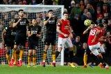 Manchester United ditahan seri Wolves saat debut Fernandes