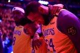 Kobe Bryant kecelakaan helikopter,  Lakers masih berduka