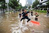 Menjadikan banjir di Jakarta sebagai sahabat
