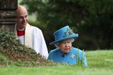 20 ribu militer Inggris siaga, Ratu Elizabeth mulai cemas karena corona