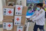 Din Syamsuddin mengimbau pemerintah berbagi masker dan hand sanitizer