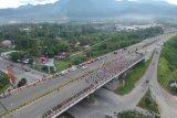 Ombudsman Sumbar soroti penggunaan Jembatan Layang Bandara Minangkabau sebagai lokasi senam