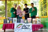 ACT-MRI bantu Alquran untuk santri di Barru