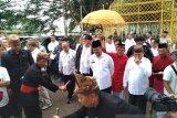 Menteri Pertanian disambut secara adat saat berkunjung ke Gorontalo