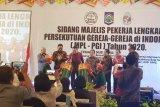 Gubernur Olly hadiri sidang MPL-PGI di Lombok