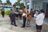 Polres Supiori gelar patroli dan pengamanan ibadah HUT Pekabaran Injil