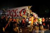 Pesawat repatriasi India kecelakaan, 17 orang tewas