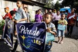 Parade Pekabaran Injil di Serui Papua