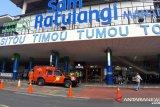 Jumlah penumpang Bandara Sam Ratulangi Manado anjlok  akibat COVID-19