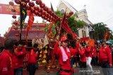 Kirab ritual meriahkan perayaan Cap Go Meh di Kota Pekalongan
