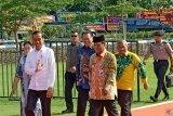 Presiden Jokowi tiba di arena utama HPN 2020 Kalsel