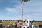 Presiden Jokowi menanam pohon Marsawa di HPN 2020