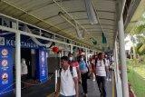 Petugas pemantau profil penumpang ada di Pelabuhan Batam hindari corona