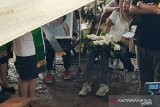 Suasana pemakaman Putri Karen Pooroe