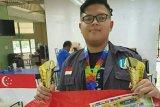 Pelajar Cianjur peringkat dua posisi terbaik ajang robotic di Johor