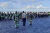 Seorang anggota TNI  meninggal karena terseret arus sungai