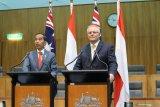 Presiden Jokowi di hadapan parlemen Australia: