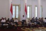 Rapat kabinet perdana tatap muka, para menteri ikuti protokol ketat