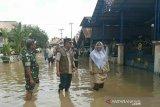 Jajaran Korem Gapo bantu  evakuasi korban banjir Musi Rawas