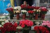 Pedagang bunga