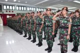 254 taruna Akmil ikuti  diksar para di Bandung