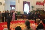 Presiden Jokowi lantik Laksamana Madya TNI Aan Kurnia sebagai Kepala Bakamla