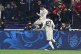 Houssem Aouar antar Lyon ke semifinal Piala Prancis